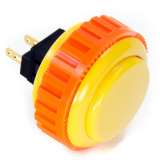 Sanwa OBSN-30 Yellow Pushbutton 30mm with Screw Ring