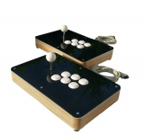 Custom Wood Arcade Fight Stick für PS4, PS3, xbox360, Supergun, Neogeo oder PC